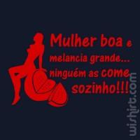 T-shirt Mulher Boa