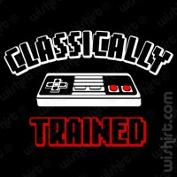 T-shirt Classically trained