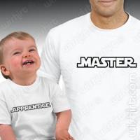 Master Apprentice T-shirts - Bebé
