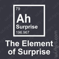 T-shirt Element of Surprise