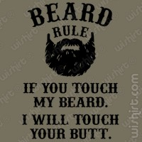 T-shirt Beard Rule