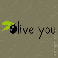 T-shirt Olive You