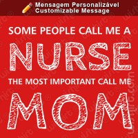 T-shirt Important People Mom
