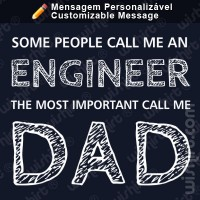 T-shirt Important People Dad