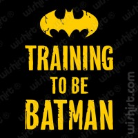 T-shirt Training to be Batman