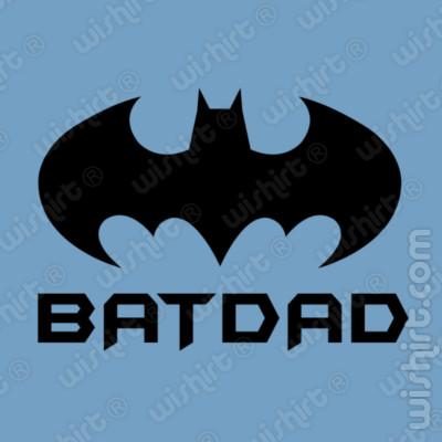 T-shirt Batdad - Prenda para oferecer ao Pai