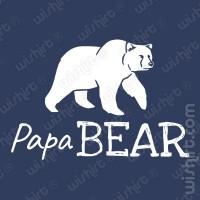 T-shirt Papa Bear