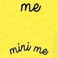 T-shirt Me mini me Grávida