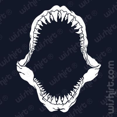 T-shirt Shark Teeth