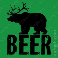 T-shirt Beer / Bear / Deer