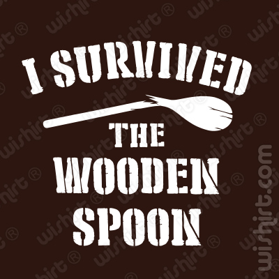 T-shirt I Survived the Wooden Spoon