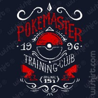T-shirt Pokemaster
