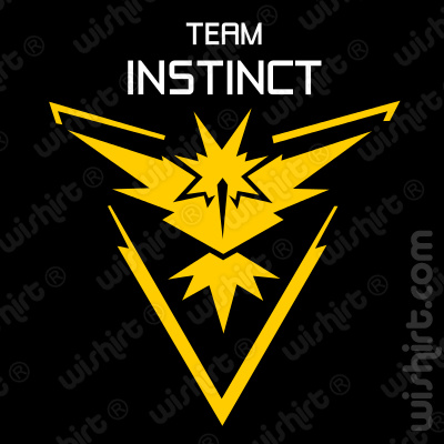 T-shirt Pokémon Team Instinct