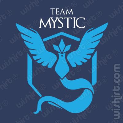 T-shirt Pokémon Team Mystic