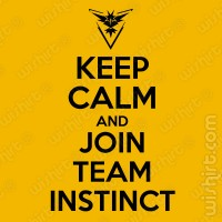 T-shirt Keep Calm Join Instinct