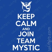 T-shirt Keep Calm Join Mystic