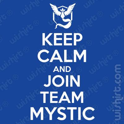 T-shirt Pokémon Keep Calm and Join Team Mystic