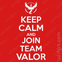 T-shirt Keep Calm Join Valor