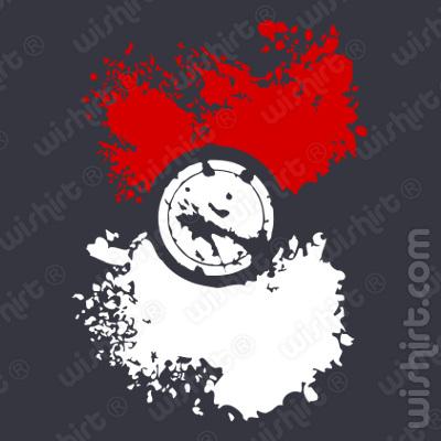 T-shirt Pokémon Ball
