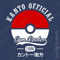 T-shirt Pokémon Kanto Official