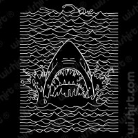 T-shirt Jaws Joy Division