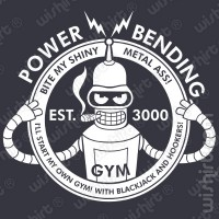 T-shirt Futurama Bender Gym