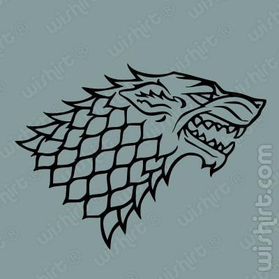T-shirt Stark Wolf