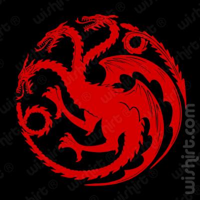 T-shirt Targaryen Dragons