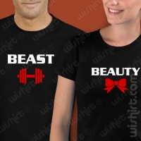 T-shirts Beauty & Beast