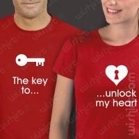 T-shirts The key to unlock