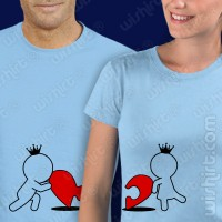 T-shirts Heart Puzzle