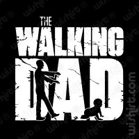 T-shirt The Walking Dad v1