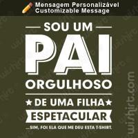 T-shirt Pai Orgulhoso