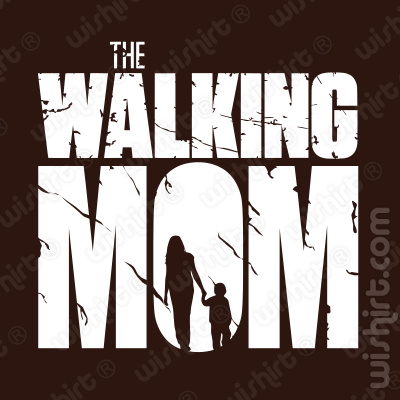 T-shirt The Walking Mom v2