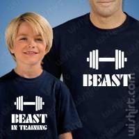 T-shirts Beast Training Criança