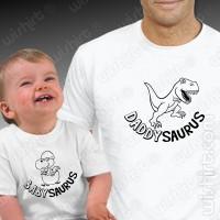 T-shirts Daddysauros Babysaurus