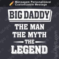 T-shirt The Man the Myth
