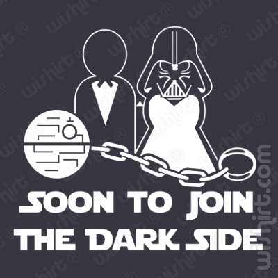 T-shirt Soon to join the Dark Side