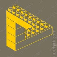 T-shirt Lego Ilusão Ótica