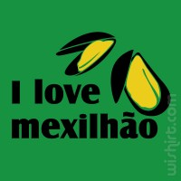 T-shirt I Love Mexilhão