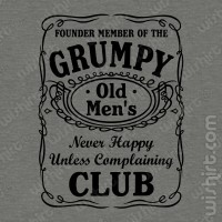 T-shirt Grumpy Old Men's Club