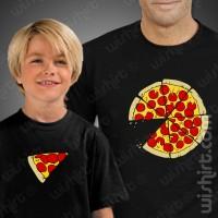 T-shirts Pizza Slice Criança