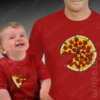 T-shirts Pizza Slice Bebé