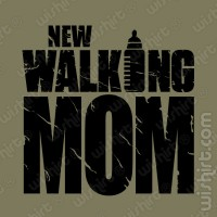 T-shirt New Walking Mom