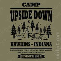 T-shirt Camp up side down