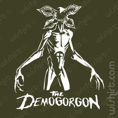 T-shirt The Demogordon Stranger Things
