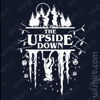 T-shirt The Up Side Down Stranger Things