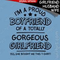 T-shirt I'm a Proud Boyfriend