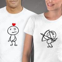 T-shirts Cupido Namorados