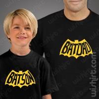 T-shirts Batdad Batson - Criança